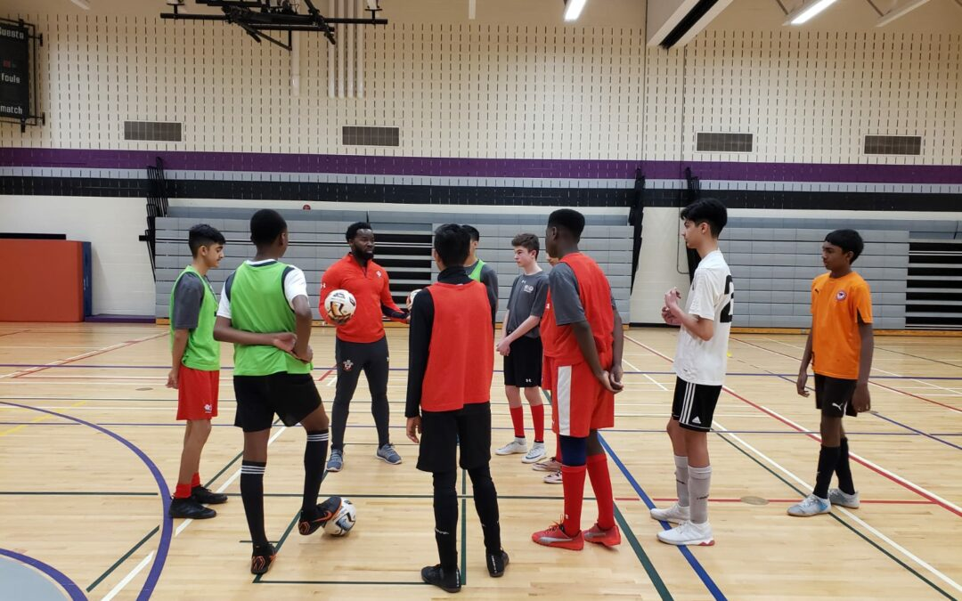 Elite Soccer AFC U15 boys prepared for 5v5 Gatorade tournament
