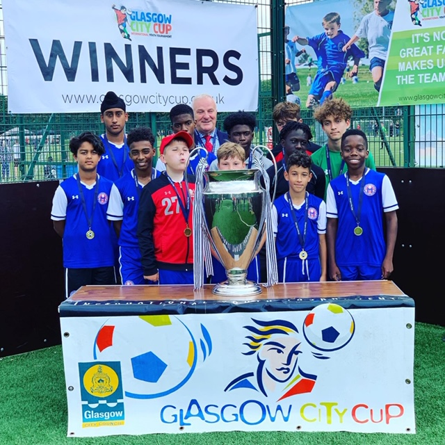 July 2019 Visit to UK Glasgow Cup