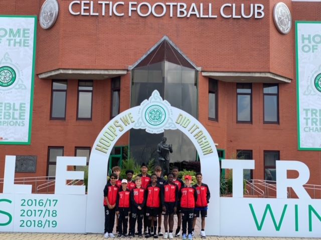 August 2019 Visit to Celtic Park Glasgow UK