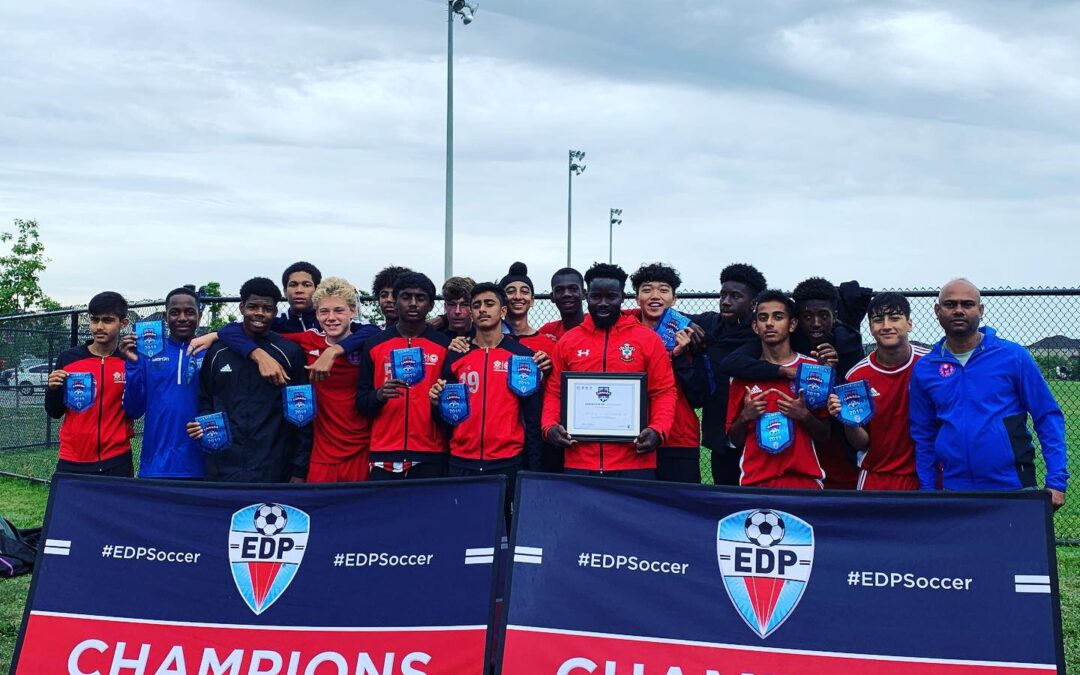 AFC U15 Crown Campion at the EDP Canadian qualifier