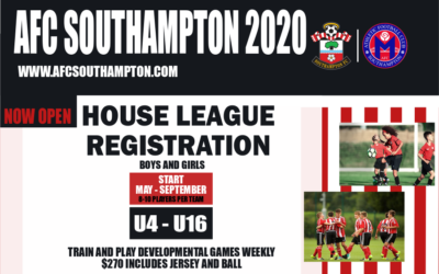 2020 House League Registration Now Open